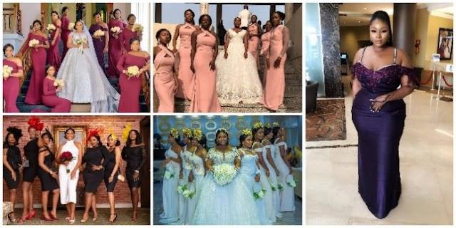 8 Hawt Bridesmaids Styles Toh Sha Pra Pra (Photos)