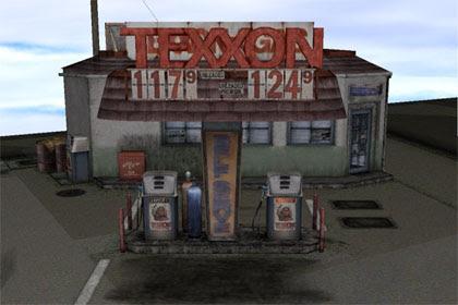 MMD Texxon Gas Station