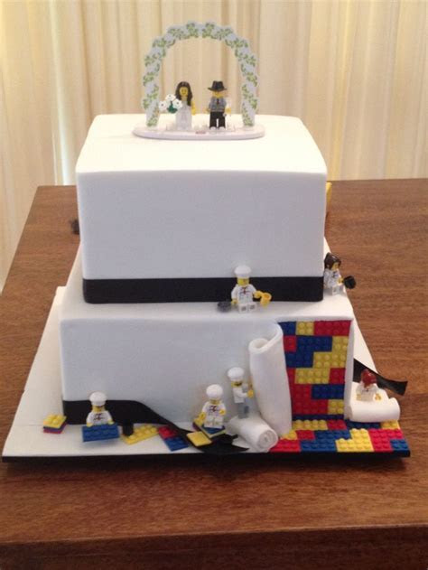 17 Best ideas about Lego Wedding Cakes on Pinterest   Lego