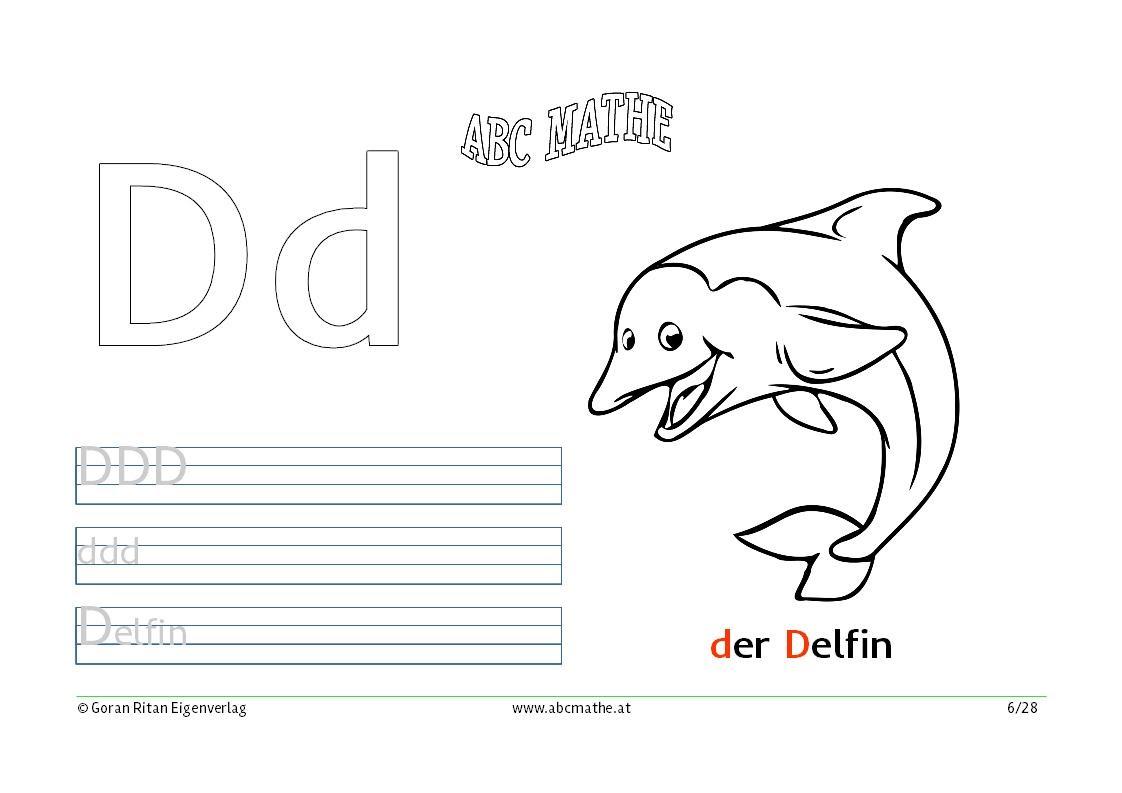 delphin malvorlagen zum ausdrucken text