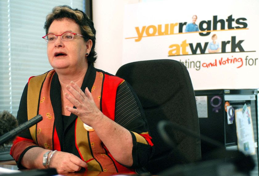 ACTU president Sharan Burrow says there must be no cut to real wages. (File photo) (AAP: Maria Zsoldos)