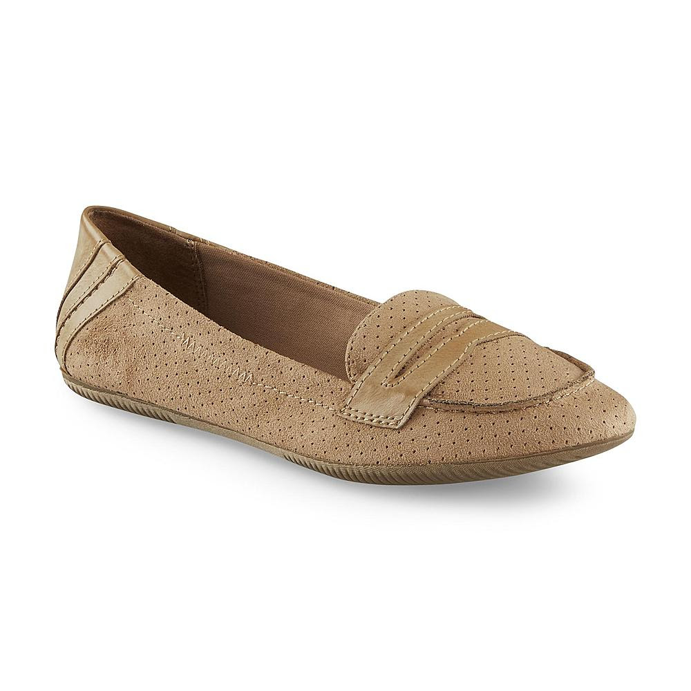 Bongo Women's Pennie Taupe Penny Loafer - Shoes - Women's ...