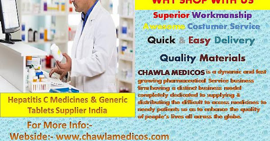 Buy Online Generic Tablets Supplier from India