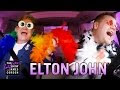 Elton John Goes Carpooling With James Corden - Video