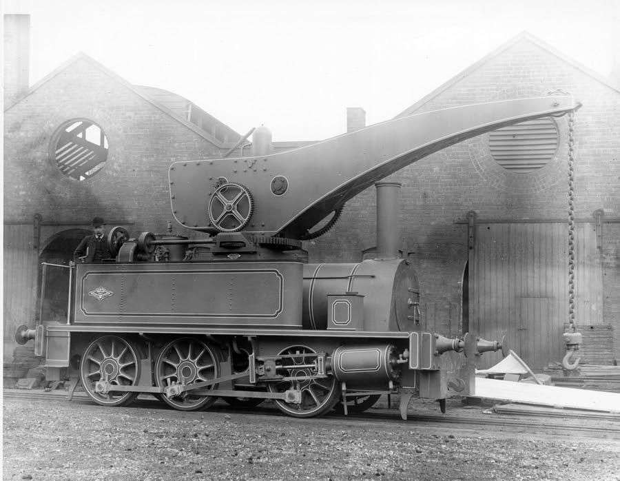 Crane Locomotive