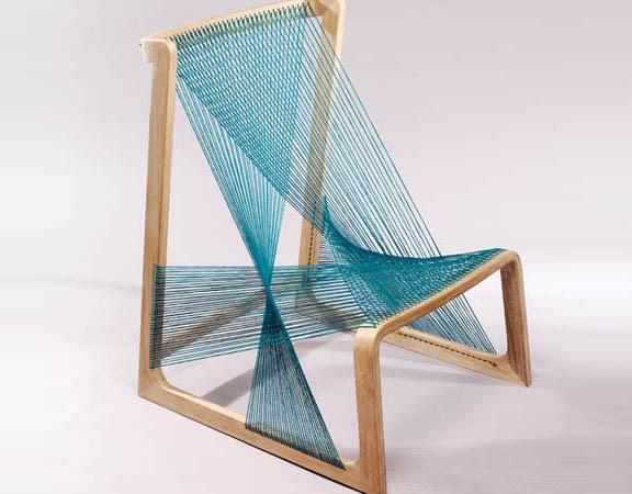 Silk Chair by Åsa Kärner of Alvidesign