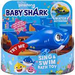 Baby Shark Robo Alive Sing & Swim Daddy Shark Robotic Bath Toy [Blue]
