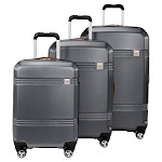 Skyway Columbia Crest 3-piece Hardside Spinner Luggage Set, Gray