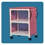 """IPU 2-Shelf 26"""" x 20"""" Standard Line Multi-Purpose Cart"""