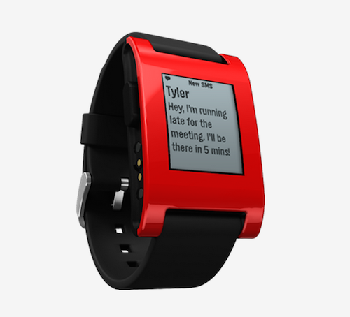 Product Profile: The Pebble Smartwatch - NerdWallet | Shopping