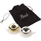 Pearl Cajon Jingle Cups, Brass/Steel - 2 pack
