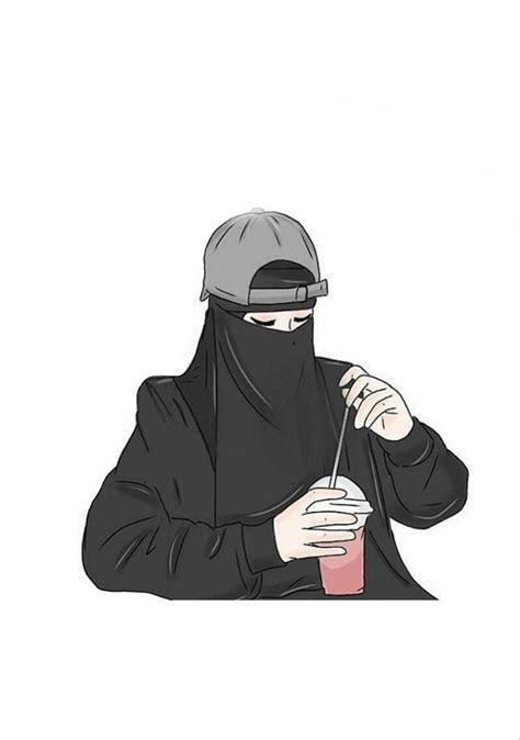 gambar kartun muslimah fashion top gambar