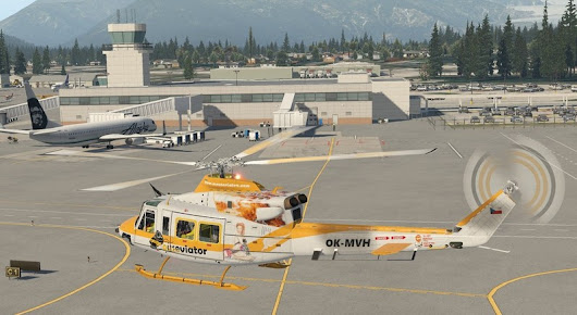 Mouseviator repaint for Bell 412