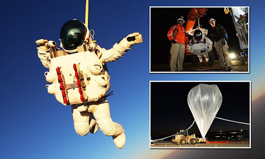 Google Executive breaks Felix Baumgartner's parachute jump record