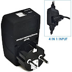 European Schucko Travel Adapter - Type E/F - 4 in 1 - 2 USB Ports (GP4-9)