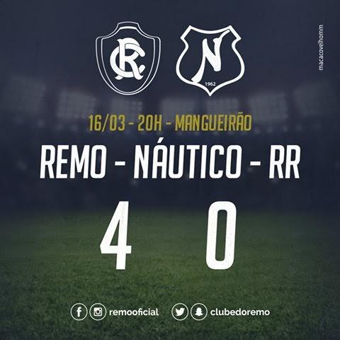 Com Hat Trick e goleada, o Remo avança na Copa Verde