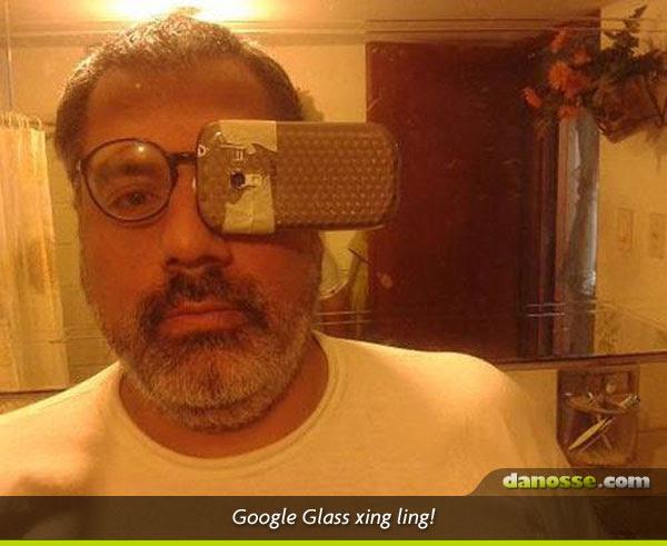 Google Glass Xing Ling!
