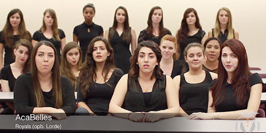College Group Sings 'Royals' Like You've Never Heard Before