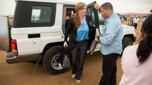 US ambassador to UN Samantha Power's convoy kills Cameroon boy