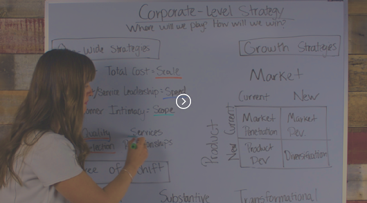 Which Type of Corporate Strategy is the Right Fit?