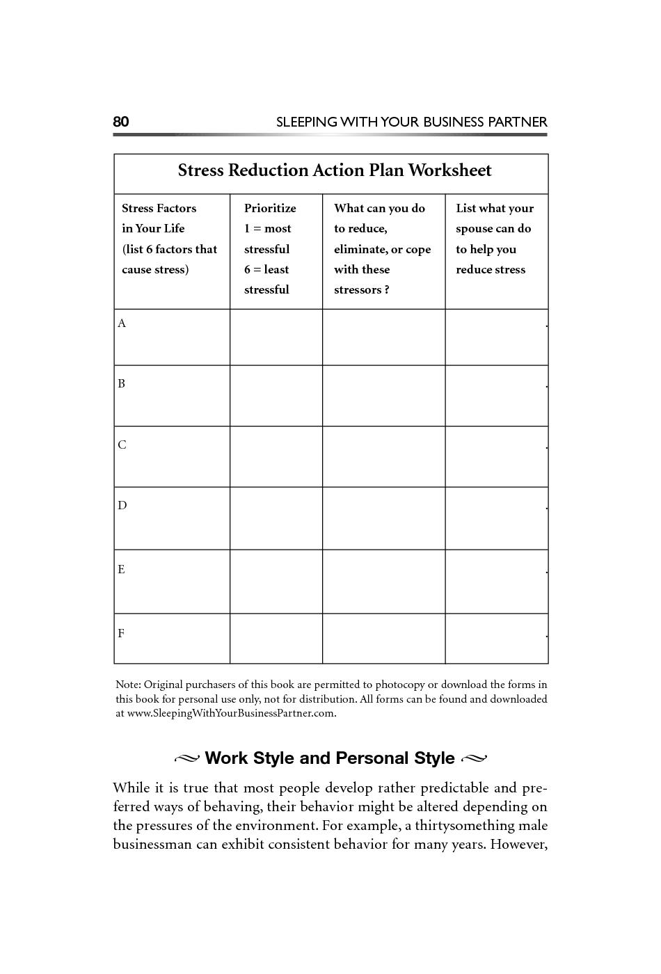 14 Best Images of Coping Skills Depression Worksheet ...