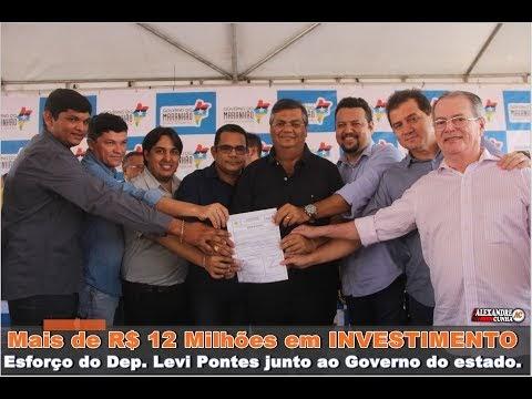 TV Cunha: Veja os pronunciamentos do deputado Levi Pontes e Governador Flávio Dino em Santa Quitéria