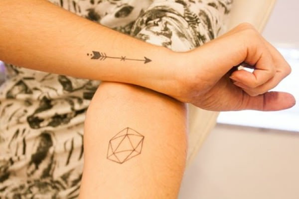 56 Striking Arrow Tattoos Thatll Target Your Style