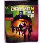 BATMAN ASSAULT ON ARKHAM 4K ULTRA HD + BLU-RAY + DIGITAL COPY NEW SEALED