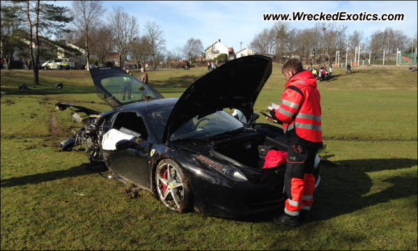 Society for the Prevention of Cruelty to Ferraris - F458 Italia Used for Offroading