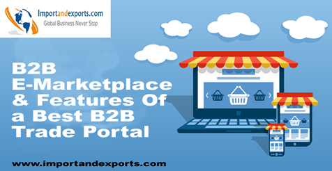 What is a B2B E-Marketplace And Features Of A Best B2B Trade Portal?
