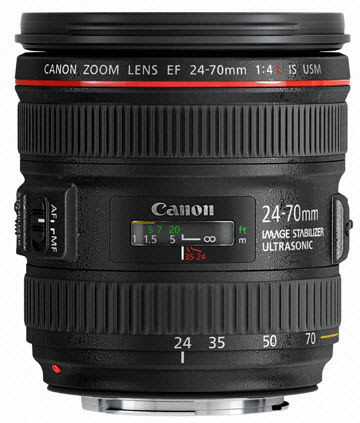 New Canon 24-70 f/4L IS