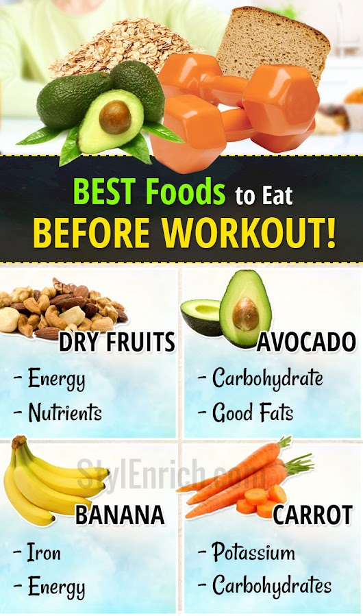Foods To Eat Before Workout - Workout Regimes That Keeps You Fit