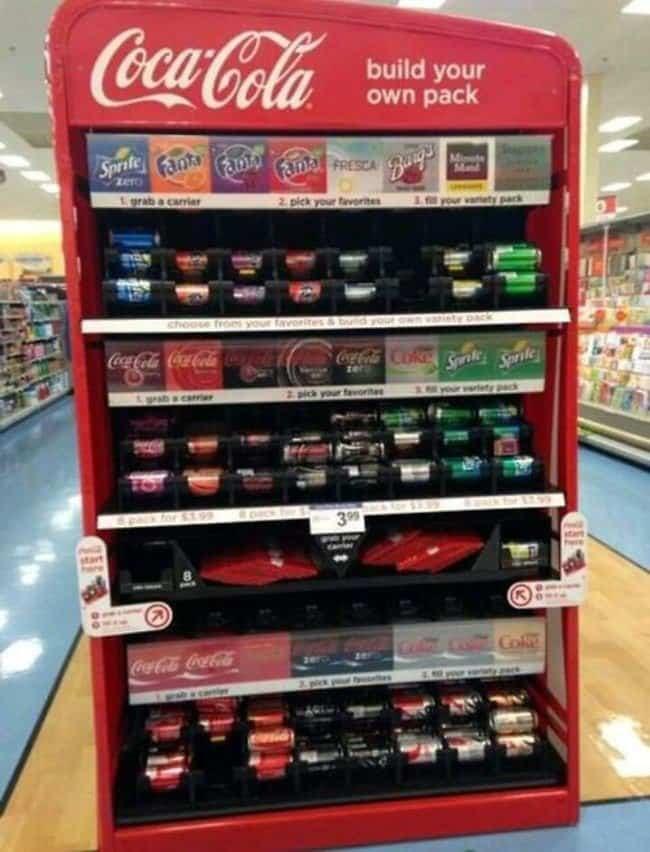 coke machine build a pack