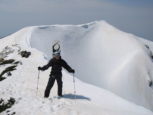 On top of Hakkoda in April 2007