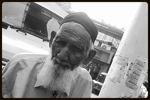 The Tragedy of Being a Poor  Homeless Muslim Man by firoze shakir photographerno1