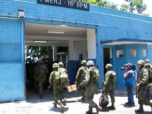 Soldados chegam ao 16º BPM