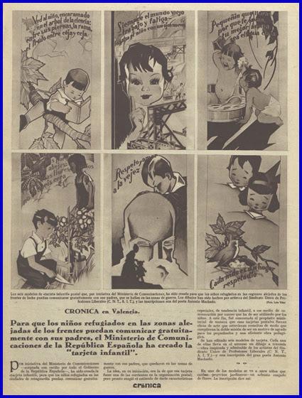 Noticia en Crónica de 27.1.1937