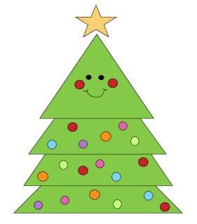 Christmas Tree Coloring Page