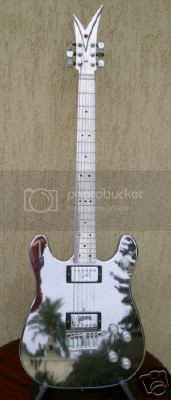 Sonny Bono's Veleno guitar
