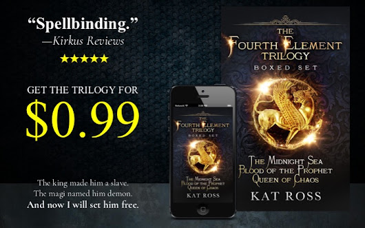 The Fourth Element Trilogy Kat Ross