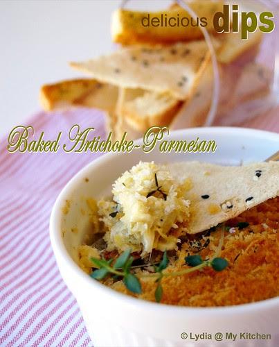 Baked Artichoke-Parmesan Dip