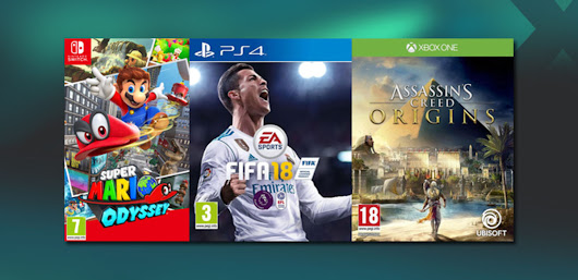 Get up to £40 Trade or £36 in CASH for Need for Speed, Star Wars, Zelda and others on PlayStation 4, Xbox One and Switch.