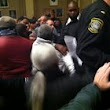 Citizens rush council members as chaos erupts at Newark City Hall meeting