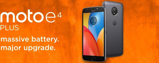 Get An Unlocked Moto E4 Plus From Amazon For Up To 20% Off Priced at $147 - BestMVNO