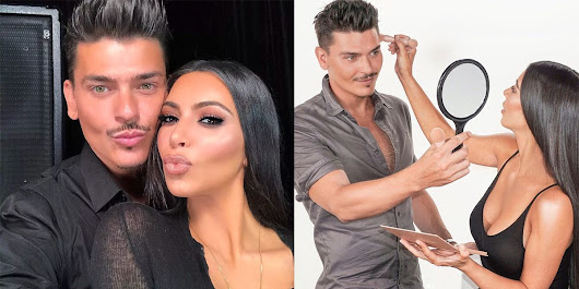 Kim Kardashian's Makeup Artist Mario Dedivanovic Beauty Tips