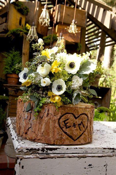 Woodland theme wedding by Borrowed. Flowers By Petals