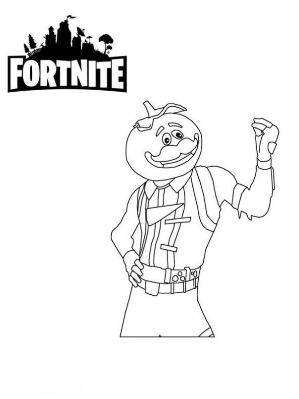 Fortnite Da Colorare E Stampare Disegni Da Colorare