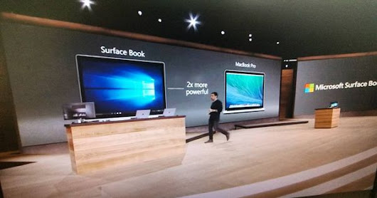 Surface Pro 4 et surtout Surface Book.. présentées en direct par Microsoft.. powerbook killers | Experts .NET - Microsoft actus | Pinterest
