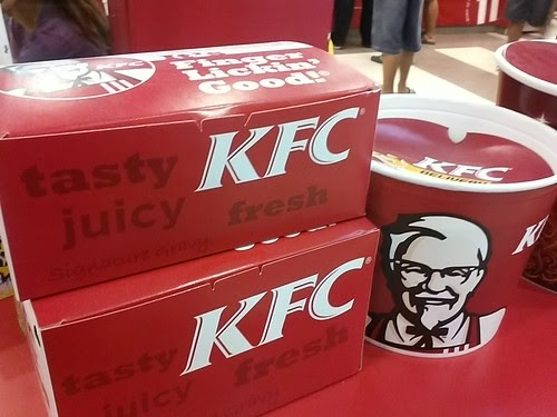 Yummy dinner tonight. Tnx kfc and ogilvy by popazrael