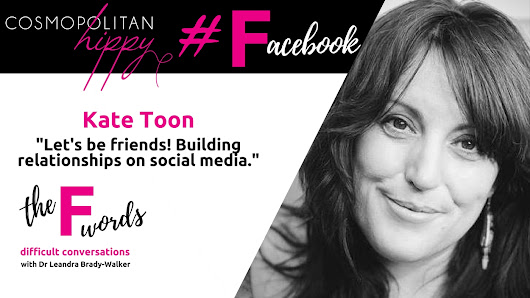 #Facebook: Let's be friends! Building relationships on social media with Kate Toon. | leandrabradywalker